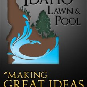 Idaho Lawn and Pool Logo