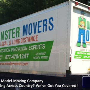 Monster Movers Cover Photo