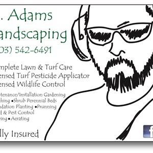D. Adams Landscaping Logo
