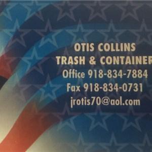 Otis Collins Trash & Container Service Logo