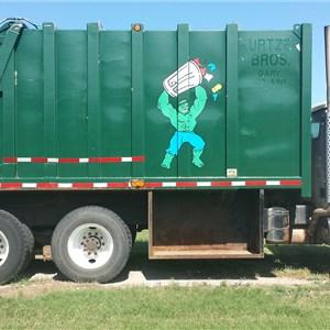 Salazar Trash Service Logo