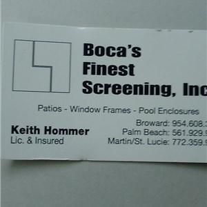 Bocas Finest Screening Inc Cover Photo