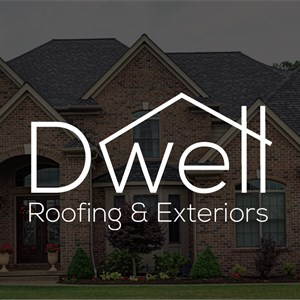 Dwell Roofing & Exteriors Logo