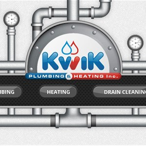 Kwik Plumbing and Heating Inc. Logo