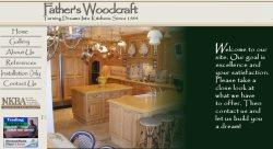 Fathers Woodcraft llc Logo