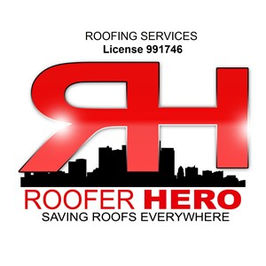 Roofing Services Roofer Hero Logo