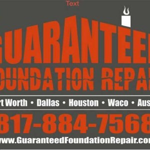 Guaranteed Foundation Repair Fort Worth Logo