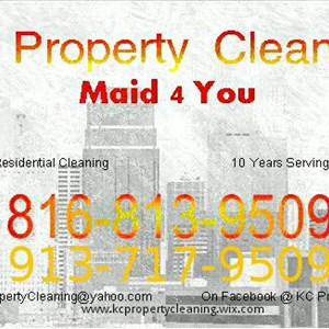 KC Property Cleaning Logo