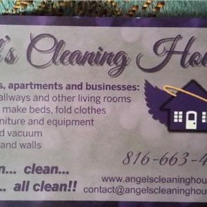 Angels Cleaning House Logo