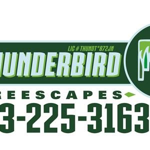 Thunderbird Treescapes Logo