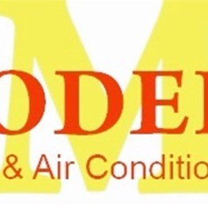 Modern Furnace & Air Conditioning Logo