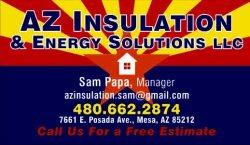 Az Insulation and Energy Solutions Logo