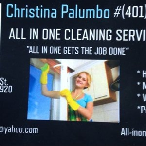 All in One Cleaning Logo