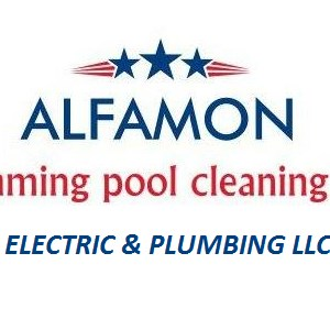 Alfamon Swimming Pool Cleaning Svcs Logo