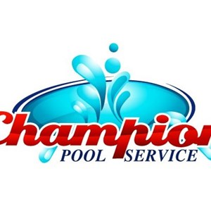 Champion Pool Service Logo