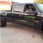 Abescape Landscaping & Irrigation,ground Maintenance Logo