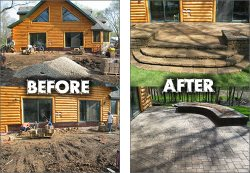 Genadek Landscaping & Excavating, Inc. Logo