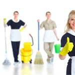 A-team Pro Cleaning Services Logo
