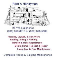 Rent A Handyman Logo