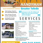 M Handyman Reviews Services Logo