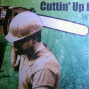 Cuttin UP Lawn & Tree Service Logo