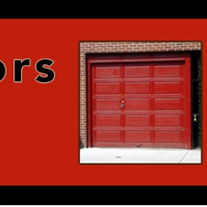 Garage Door Repair Service Company Logo