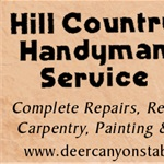 Hill Country Handyman Services Logo