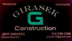 Girasek Construction Logo