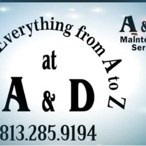 A&d Maintenance Service Cover Photo