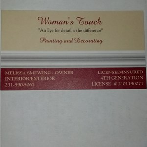 Womans Touch Painting & Decorating Cover Photo