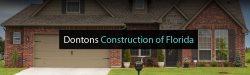 Dontons Construction of Florida, Inc. Logo