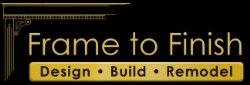 Frame to Finish Construction Logo