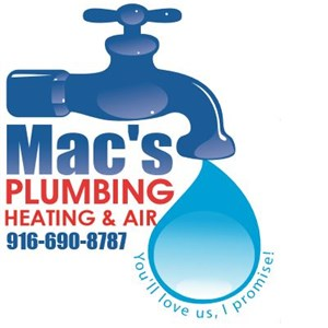 Macs Plumbing, Heating and Air Logo