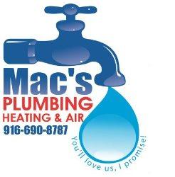 Macs Plumbing, Heating and Air Logo