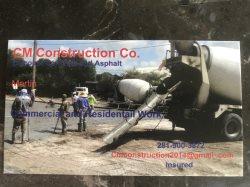 CM  Construction co. Logo