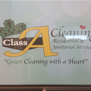 Class A Cleaning Service Logo