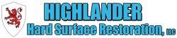 Highlander Hard Surface Restoration LLC Logo