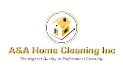A & A Home Cleaning Logo