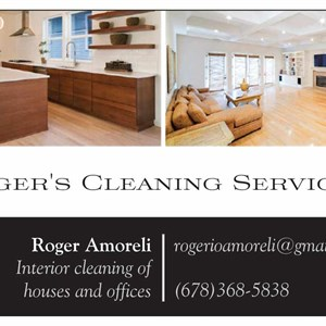 Rogers Cleaning Logo