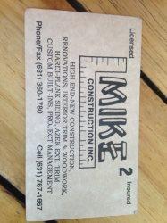 Mike2 Construction Inc. Logo