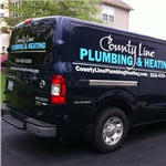 County Line Plumbing & Heating, Inc. Logo