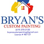Bryans Custom Painting Logo