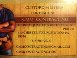 CMM Contracting Logo