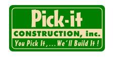 Pick-it Construction, Inc. Logo