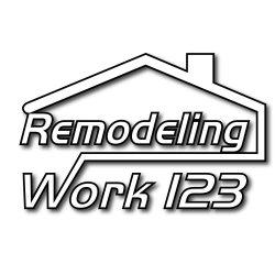 Remodeling work 123 Logo