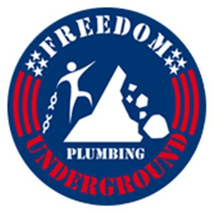 Freedom Underground Plumbing Logo