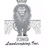 King Landscaping, inc. Logo