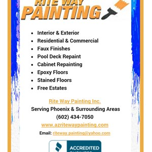 Rite Way Painting Inc. Cover Photo