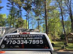 Cleats Tree Service Logo
