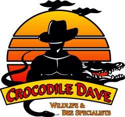 Crocodile Dave Wildlife & Bee Specialists Logo